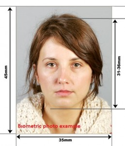 biometric photo example