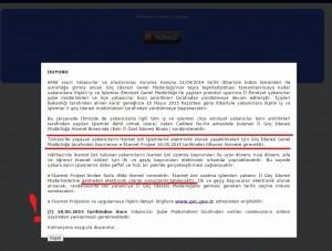 randevu system changes notification